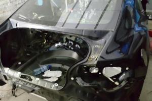 skradziony samochód rozbierany na części