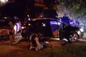 Lexus i zatrzymanie przestępców